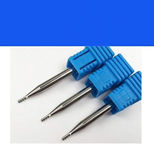 GENERICS LSB-Werkzeuge, 5 stücke HRC55 3F DREI Flöten schaftfräser Aluminium Schneiden CNC Werkzeuge Flache schaftfräser fräser 4mm CED 1mm