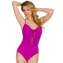 Magicsuit Women's Magic Solids One Piece Convertible Strap Tank Swimsuit