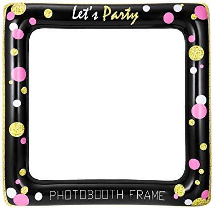 Amazon.com: luoem hinchable selfie marco apoyos de la foto ...