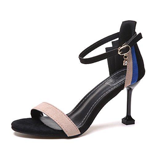 Chat Sauvages Avec Cool Chaussures 1color Mots Talons Et Ouvert Girl ZSHq7B6
