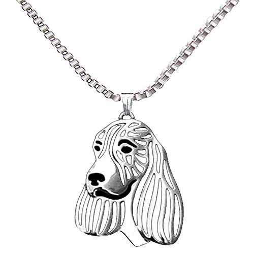 English Springer Spaniel Pendant English Springer Spaniel Animal Dog Necklace for Pet Lovers(ND040S)