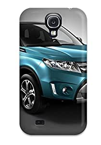 Defender Case With Nice Appearance (2015 Suzuki Vitara Background Hd) For Galaxy S4