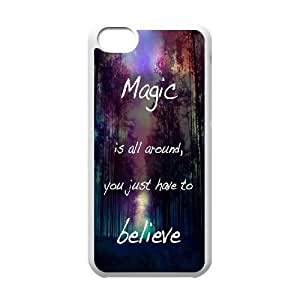T-TGL(RQ) Customized New Printed Phone Case for Iphone 5C diy Dream Imagine Believe case