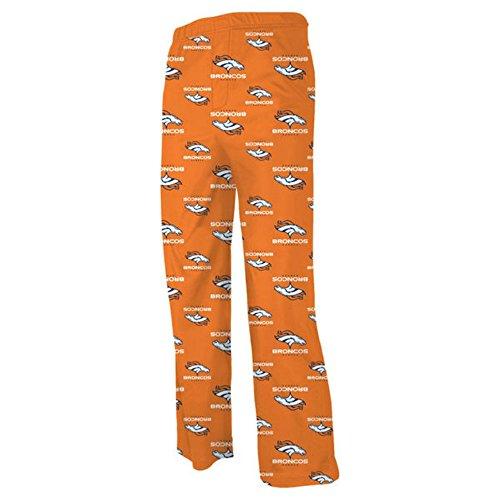 Denver Broncos Youth Large 14/16 Lounge Soft Pajama Pants Team Colors (Pajamas Youth Denver Broncos)