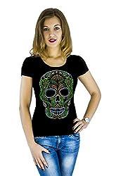 Skull t-Shirt with Hot-Fix Sequins