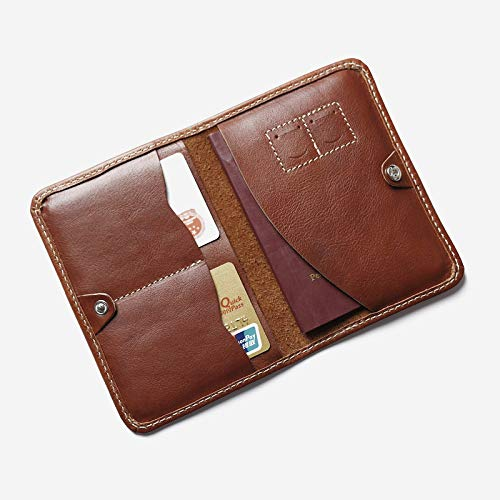 Passport Wallet Real Leather Passport Cover Designer Multifunctional Passport Wallet Travel Men Passport Holder