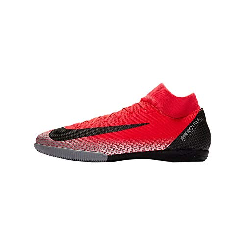 Nike Men's SuperflyX 6 Academy CR7 Indoor Soccer Shoes (10.5 M US) Red