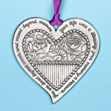 Christmas Memorial Ornament -Your Life Was a Blessing....