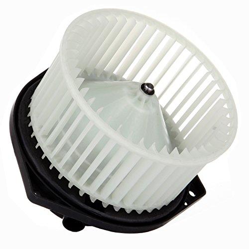 cciyu HVAC Heater Blower Motor with Wheel Fan Cage 27220-2Y910 Air Conditioning AC Blower Motor fit for 2002-2004 Infiniti I35 /2000-2003 Nissan Maxima /2003-2006 Subaru Baja ()