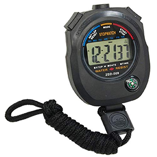 Omnfas Multifunction with Compass Waterproof Movement Stopwatch Electronic Timer