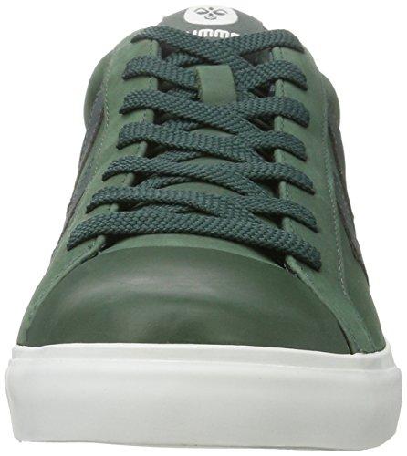 Vert Court Darkest Gris Homme Sneakers hummel Baseline Basses Spruce Y5q1cUw