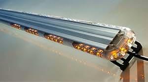Ex Razor 50 LED Lightbar Amber Emergency Vehicle Lighting LED Strobe Warning Lights Exterior Light Bar