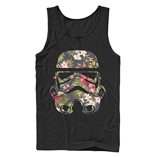 Star Wars Tropical Stormtrooper Mens Graphic Tank (Star Wars Tank Top)