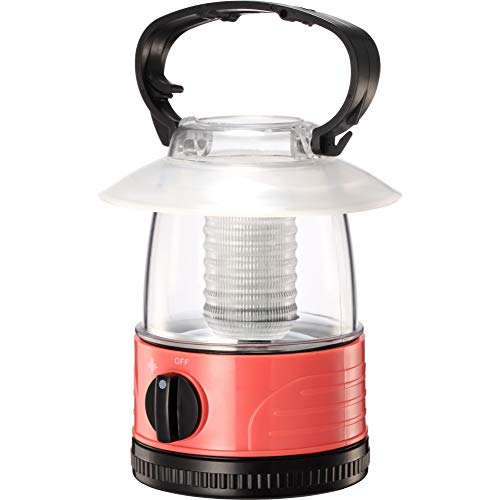 ZZD Mini LED Camping Lantern Lights, 4 AA Battery Powered Pink Kids Small Lightweight Flashlight Lantern for Hiking, Emergencies, Storms, Outdoor Lantern