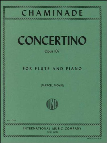 Chaminade: Concertino, Opus 107 - Flute