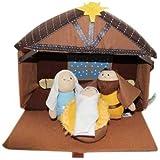 Talicor Plush Nativity 4 Piece Play Set by TaliCor