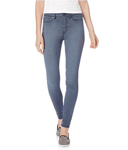 Aeropostale Womens High Waisted Jeggings, Grey, 000 Regular (Jeans Aeropostale For Women)