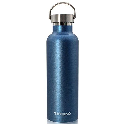 De color de calidad superior non-oxidado agua al vacío de acero inoxidable botella de doble pared termo aislantes, caminata...