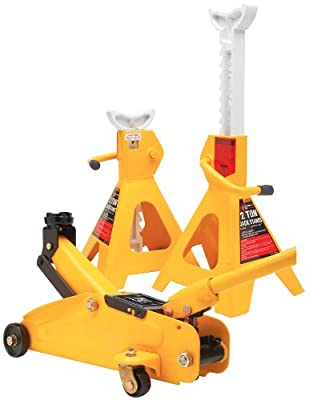 Performance Tool W1605 2-Ton Trolley Jack and Stand