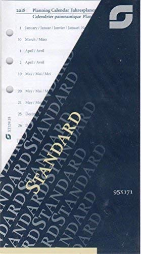 Succes estándar Agenda (Año 2018 4sprachig 1 mes/1seite A6 ...