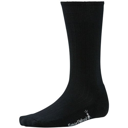 Classic Socks (Smartwool Men's New Classic Rib Socks (Black) Large)
