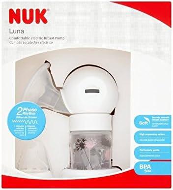 Extractor de leche eléctrico NUK Luna - Pack de 2: Amazon.es ...