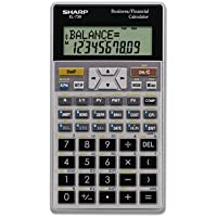 EL-738C Financial Calculator, 10-Digit LCD, Sold as 1 Each
