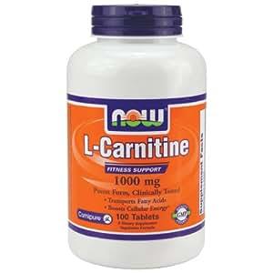 Amazon.com: Now Foods L-Carnitine 1000 mg - 100 Tabs 8