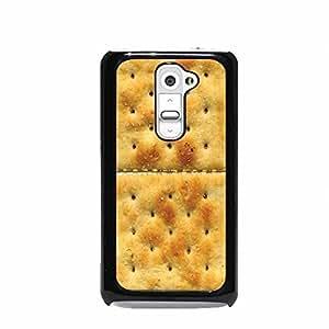 Crackers Print LG G2 Hard Plastic Case (Not for Verizon)