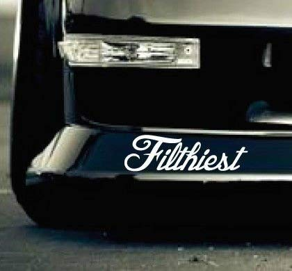- Tamiko - Car Styling For Filthiest _sick euro hellaflush race drift sti stance Decal Sticker - (Color Name: As a picture )