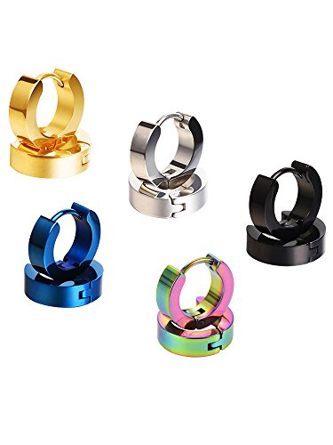 Mudder Stainless Earrings Hypoallergenic Assorted