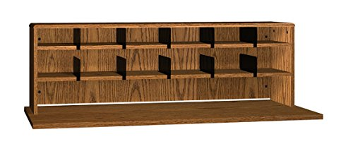 Ironwood 2 Shelves Desk Top Organizer, 56'', Dixie Oak (DTO56DO) by Ironwood