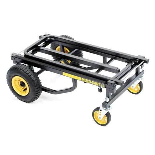 Multicart R6 Mini Transporter with Molded Rear Wheels, Load capacity 500 lbs. 27 cu. ft.