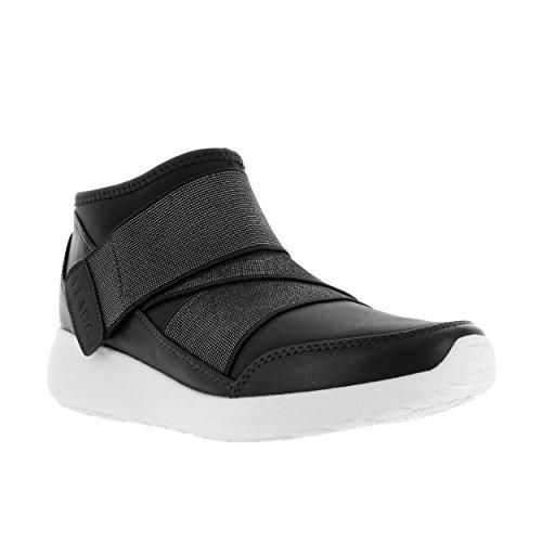 Vlado Footwear Womens Siren Neoprene Low Top Trainer Nero
