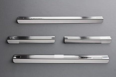 Tuning-Art 833 Exclusivos Protectores de umbral de Puerta en Acero: Amazon.es: Coche y moto