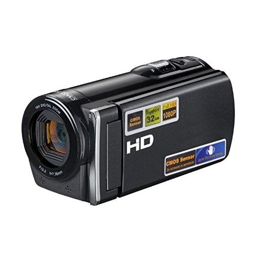PowerLead Dcam PL-C10 16MP Digital Camcorder Camera DV Video Recorder with 2.7' Display 16x Digital Zoom