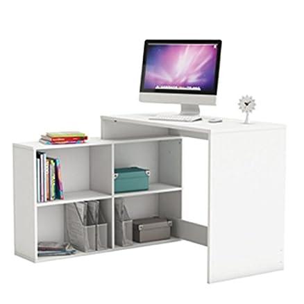 Scrivania ad angolo bianco PC scrivania per computer - scrivania ...