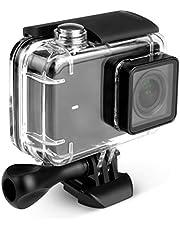 Kupton behuizing voor Xiaomi 4K / Yi 4K+/Yi Lite/YI Discovery duikbehuizing Waterdichte behuizing 40m voor Xiaoyi 4K Xiaomi II Yi Lite Action Camera met houder