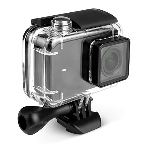Kupton Waterproof Case for Xiaomi YI 4K/ YI 4K+/ YI Discovery 4K, Diving Protective Housing 40m Waterproof Case for Xiaomi YI 4K/ YI 4K+/ YI Discovery 4K Action Camera with Bracket