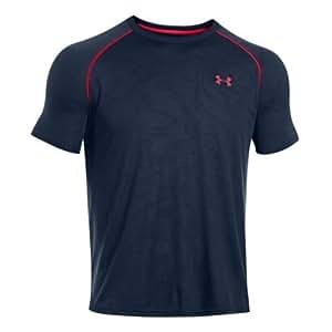 Under Armour Men's UA Tech Patterned Short Sleeve T-Shirt Medium Academy