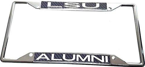 lsu alumni license plate frame - 4