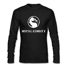 Mortal Kombat X T-shirts XL Black For Men Cotton