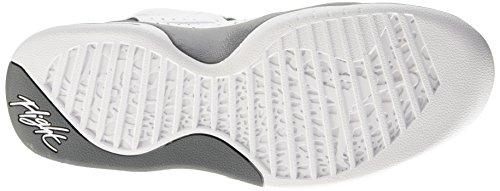 Nike Herren Jordan Flight Tradition Gymnastik Bianco (White/Cool Grey)