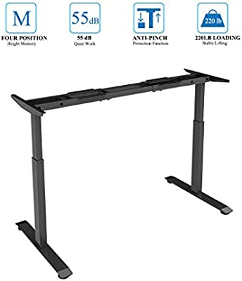 Amazon Com Sunon Electric Standing Desk Ergonomic Height Adjustable