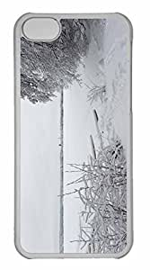 iPhone 5C Case, Personalized Custom Winter Littoinen Finland for iPhone 5C PC Clear Case