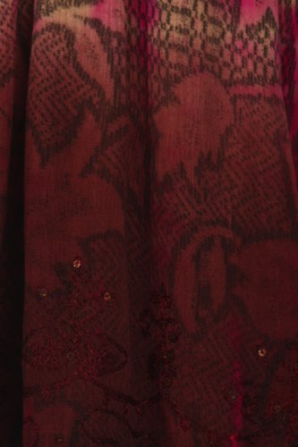 Tie Sakkas Crme Marron Manches Paillettes Dye Sans and Chemisier Floral Multicolore vvFIw