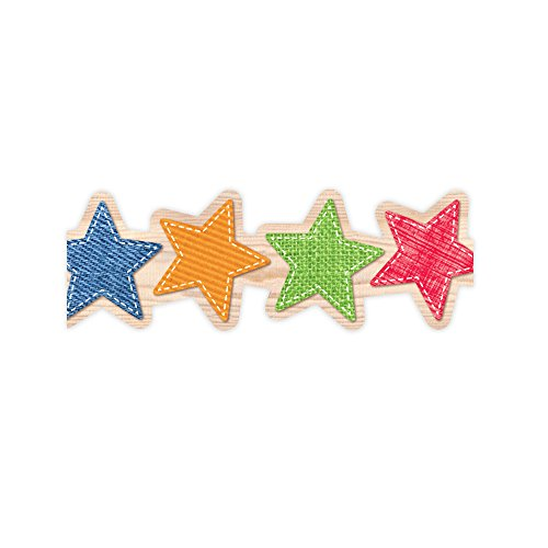 Creative Teaching Press Upcycle Style Stars Border ()