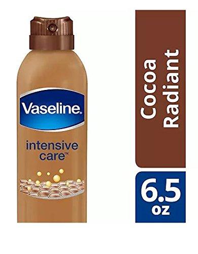 Vaseline Spray Go Cocoa Radiant, 6.5 oz (Pack of 2)