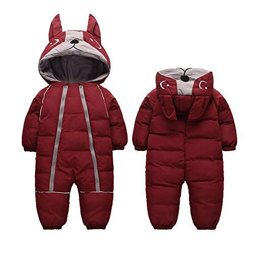Bestgift Peuter Winter Sneeuw Pak Een Stuk Warme Hoodies Jas voor Unisex Baby