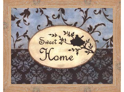 Sweet Home – by Andrea Roberts – Frame 16 x by 12インチ – アートプリントポスター LE_665221-F10902-16x12 Knotty Wood Frame B01NBYCNU1, VIPORTE:6f03929a --- itxassou.fr